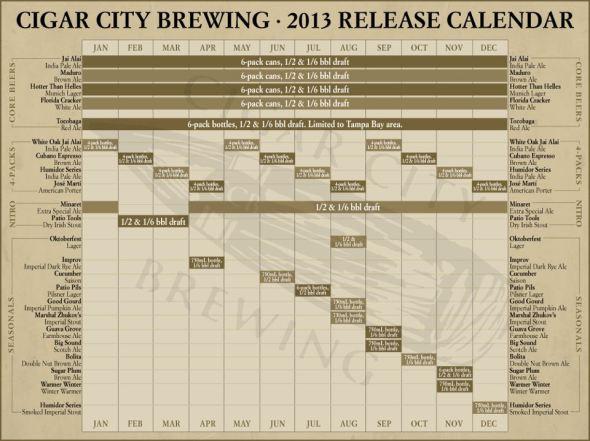 CCB calendar