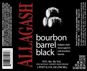 Allagash Bourbon Barrel Black