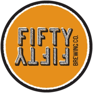 Fifty Fifty Brewing company Logo