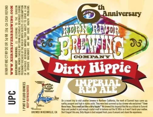 Kern River Dirty Hippie 6th Anniversary Ale