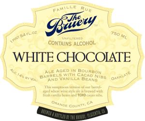 Bruery White Chocolate