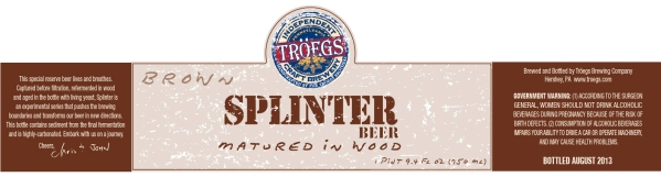 Troegs Splinter Brown