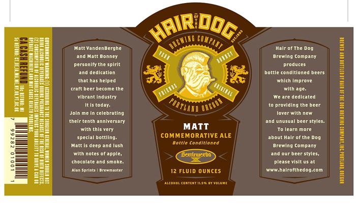 Hair of the dog brewery matt