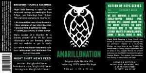 Night Shift Amarillonation