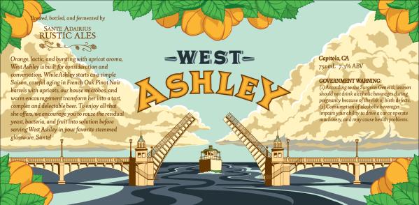 SARA West Ashley label