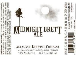 Allagash Midnight Brett