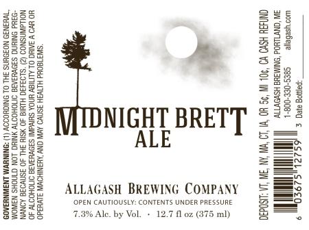 Allagash Midnight Brett
