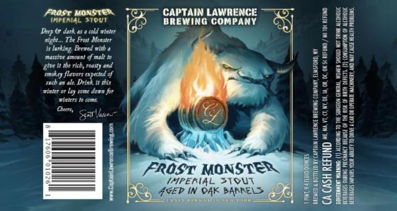 Captain Lawrence Frost Monster label