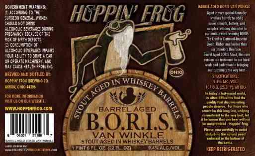 Hoppin Frog BORIS Van Winkle