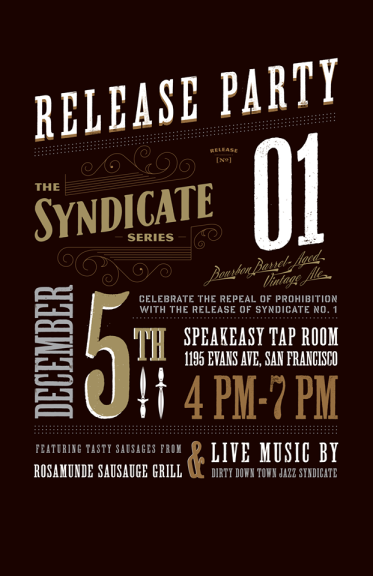 Speakeasy Syndicate No1