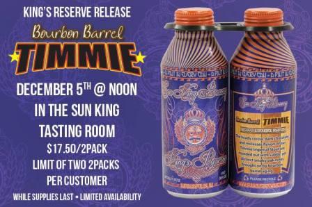 Sun King Bourbon Barrel Timmie