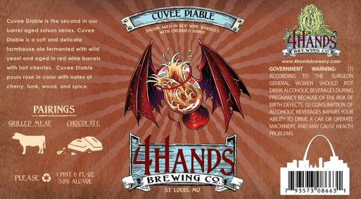 4 Hands Cuvee Diable
