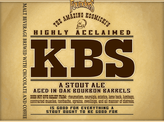 Kbs Beer Served Rare