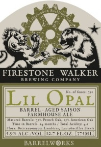 Firestone Walker Lil Opal