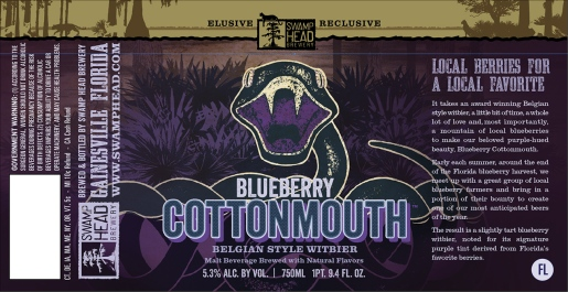 Swamp-Head-Blueberry-Cottonmouth