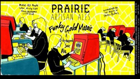 Prairie Funky Gold Mosaic