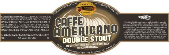 Cigar City Caffe Americano