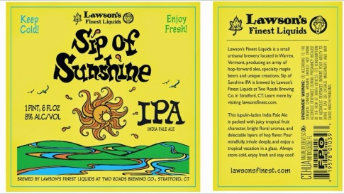 Lawson's Sip of Sunshine IPA