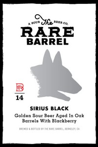 The Rare Barrel Sirius Black