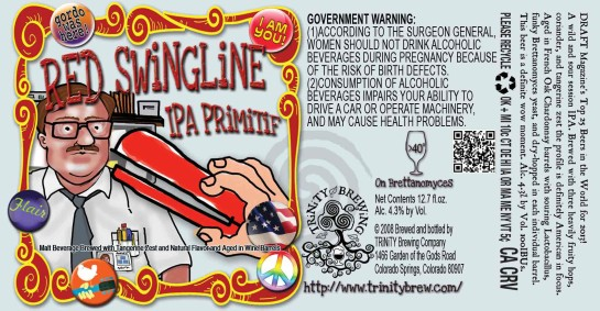 TRiNiTY Brewing Red Swingline