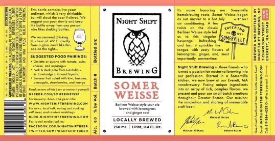 Night Shift Somer Weisse