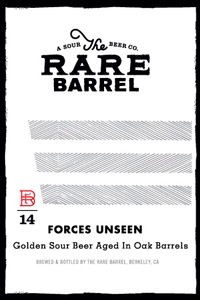 The Rare Barrel Forces Unseen