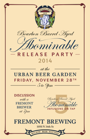 Freemont Bourbon Abominable Release