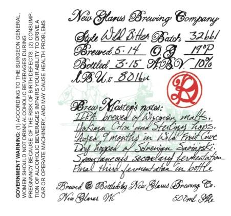 New-Glarus-Wild-Bitter-label